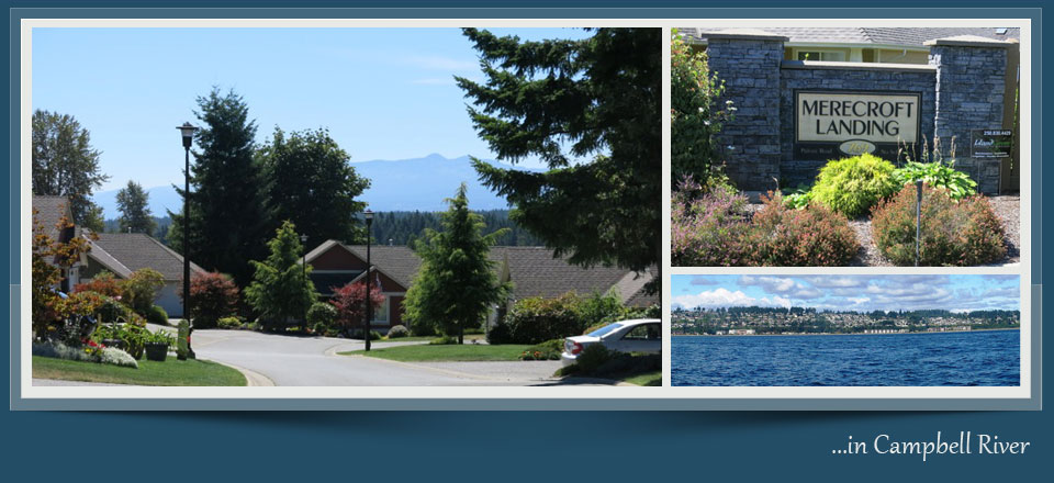 Merecroft Landing - Campbell River BC - Condo Website