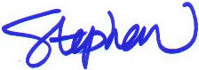 Stephen Cragg Signature